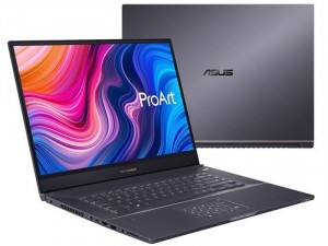 ASUS ProArt StudioBook Pro 17 W700G1T-AV062R - 17 FHD IPS Matt, Intel® Xeon Xeron E-2276M, 16GB DDR4, 512GB SSD, NVIDIA Quardro T1000 4GB, Windows 10 Pro, Szürke Laptop