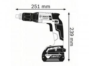 Bosch Professional GSR 18 V-EC TE akkus fúrócsavarozó L-Boxx-ban