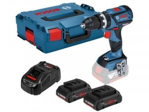 Bosch GSR 18V-50 akkus fúrócsavarozó + L-Boxx