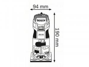 BOSCH GKF 600 élmaró kofferben