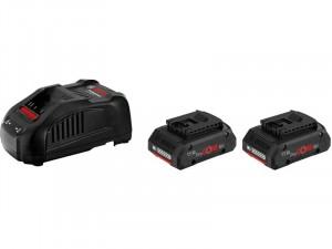 BOSCH ProCORE 18V készlet 2x 18V-os, 4Ah Li-Ion akku + Töltőkészülék