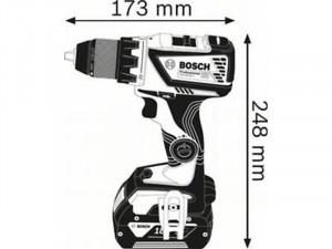 BOSCH GSR 18V-60 C Akkus fúrócsavarozó, akku nélkül