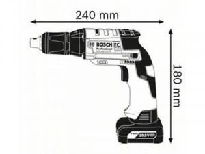 Bosch GTB 12V-11 akkus szárazépítési csavarbehajtó akku és töltő nélkül