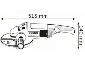 Bosch Professional GWS 22-180 JH nagy sarokcsiszoló