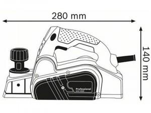 BOSCH GHO 6500 Gyalu 650 W