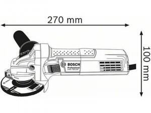 BOSCH Professional GWS 700 sarokcsiszoló, 700 W
