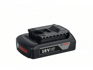 Bosch 18 V/1, 5 Ah Li-Ion akkumulátor