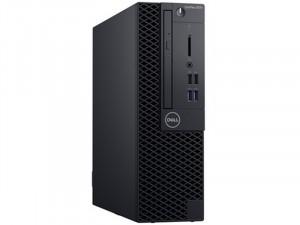 DELL OptiPlex 3070 SFF - Intel® Core™ i5 Processzor-9500, 8 GB, 256 GB SSD, Intel® UHD Graphics 630, Linux, Fekete Asztali Számítógép