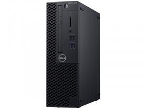 DELL OptiPlex 3070 SFF - i3-9100 , 4 GB , 128 GB SSD , Intel® UHD Graphics 630 , Linux, Fekete Asztali Számítógép