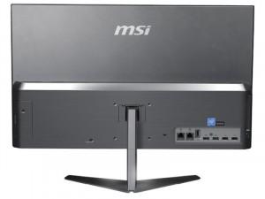 MSI AIO PRO 24X PRO24X10M-014EU - 23.8 Col - Full HD - i3-10110U - 8GB - 512GB SSD - Intel® UHD - Win10 Home - All-in-one PC Ezüst Asztali Számítógép
