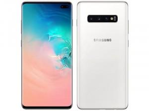 Samsung Galaxy G975 S10+ 128GB 8GB LTE DualSIM Kerámiafehér Okostelefon