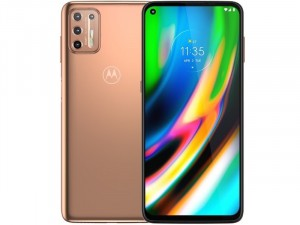 Motorola Moto G9 Plus 128GB 4GB Dual-SIM Rózsaarany Okostelefon