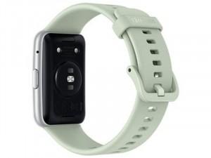 Huawei Watch Fit Okosóra Zöld Szilikon pánttal