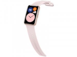 Huawei Watch Fit Okosóra Rózsaszín Szilikon pánttal