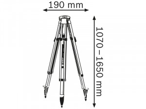 Bosch BT 170 HD Professional Állvány