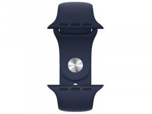 Apple Watch Series 6 GPS 44mm Kék Alumínium Ház Kék Sportszíjjal