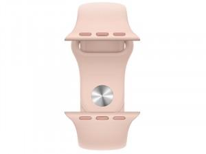 Apple Watch Series 6 GPS 40mm Arany Alumínium Ház Rózsaszín Sportszíjjal