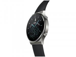Huawei Watch GT 2 Pro Sport 46mm Okosóra Fekete Szilikon szijjal