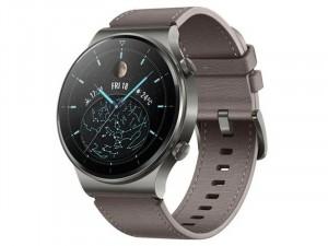 Huawei Watch GT 2 Pro Sport 46mm Okosóra Szürke Bőr szíjjal