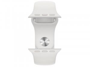Apple Watch SE 2020 GPS Cellular 40mm Ezüst Alumínium Ház Fehér Sportszíjjal