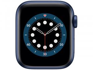 Apple Watch Series 6 GPS 40mm Kék Alumínium Ház Tengerészkék Sportszíjjal