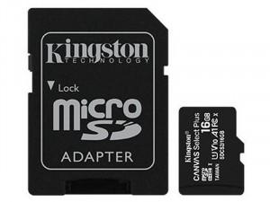 Kingston 1Adapter CL10 SDCS2/16GB SD Micro 16GB HC memóriakártya+adapter