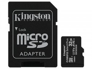 Kingston Adapter CL10 SDCS2/32GB SD Micro 32GB HC memóriakártya+adapter