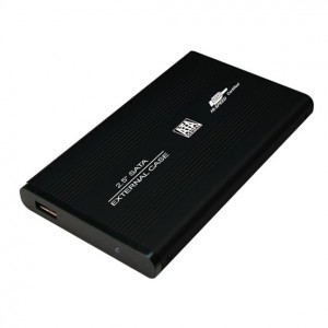 LogiLink UA0041B 2.5 SATA USB2.0 Külső merevlemez aluminium ház