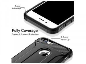 Samsung Galaxy A20 Armor, Ezüst Szilikon tok