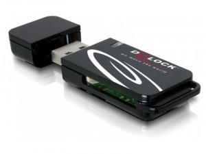 Delock USB 2.0 18 in 1 kártyaolvasó