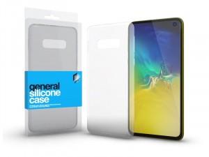 Samsung Galaxy S10e Ultra vékony (0.33mm) Átlátszó Szilikon tok