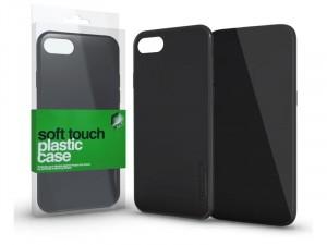 Huawei Mate 20 Lite Soft-touch Fekete Plasztik tok