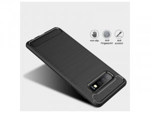 Xiaomi Redmi Note 8 Carbon, Fekete Szilikon tok