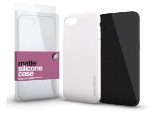 Samsung Galaxy A30s Matt Opál Fehér Ultra vékony Szilikon tok