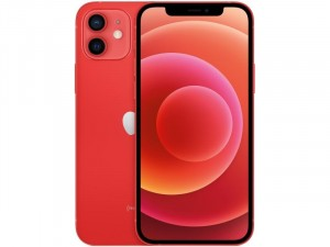 Apple iPhone 12 128GB Piros Okostelefon