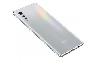 LG Velvet G910 128GB 6GB Dual-SIM Ezüst Okostelefon