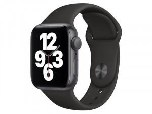 Apple Watch SE 2020 GPS 40mm Asztroszürke alumínium tok Fekete szíjjal Okosóra