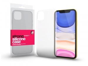 Apple iPhone 11 Strong (0.2mm) Átlátszó Szilikon tok