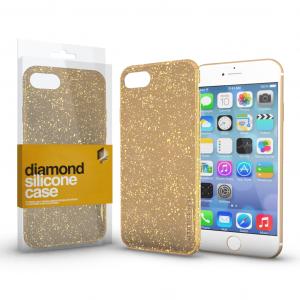 Apple iPhone 11 Diamond Arany Szilikon tok
