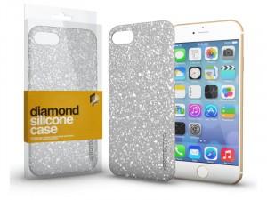 Apple iPhone 11 Diamond Ezüst Szilikon tok