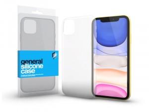 Apple iPhone 11 Ultra vékony (0.33mm) Átlátszó Szilikon tok