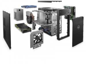 Dell Precision T3640 DPT3640-25 munkaállomás - Intel® Core™ i7 Processzor-10700, 8GB 3200Mhz DDR4, 256GB SSD, 1TB HDD, NVIDIA Quadro P2200 5GB, Win10 Pro MUI, Fekete Asztali Számítógép