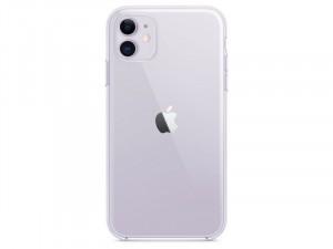 Apple iPhone 11 Eredeti Apple Átlátszó TPU/PC tok