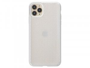 Apple iPhone 11 Fehér színű Lélegző Szilikon tok