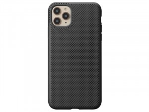 Apple iPhone 11 Fekete színű Lélegző Szilikon tok