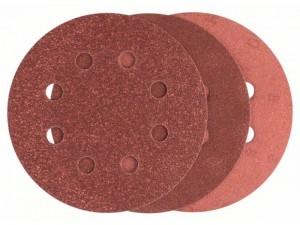 Bosch 25 részes csiszolólapkészlet excentercsiszolókhoz 115mm