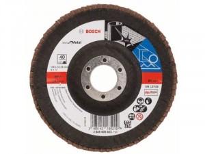 Bosch X571 fíber csiszolótárcsa, Best for Metal 125x22,23 mm, P40