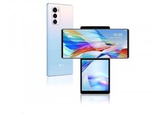 LG Wing 5G 128GB 8GB RAM Dual Sim Kék Okostelefon