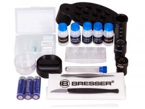 Bresser Junior Biolux SEL 40–1600x Zöld mikroszkóp, okostelefon-adapterrel (74319)