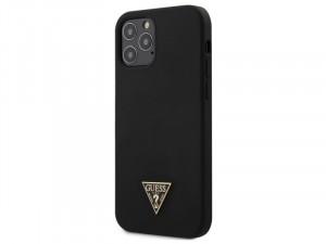 Apple iPhone 11 Pro Max Guess Fekete Márvány mintás TPU - Szilikon tok